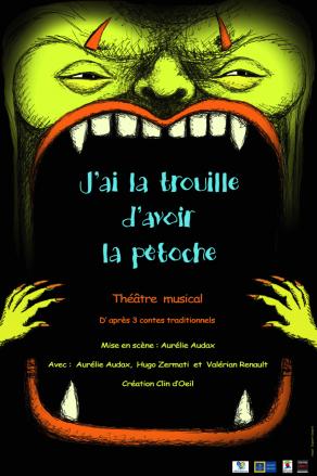 image de J'AI LA TROUILLE D'AVOIR LA PETOCHE